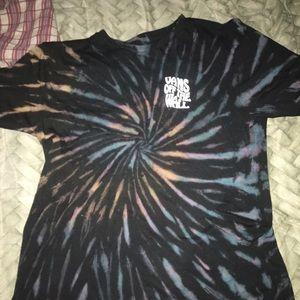 Vans tie dye shirt